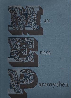 MAX ERNST: PARAMYTHEN Gedichte und Collagen: Ernst, Max