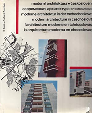 Modern architecture in Czechoslovakia / Moderne Architektur in der Tschechoslowakei / L'architect...