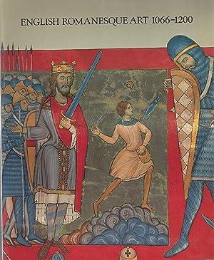 ENGLISH ROMANESQUE ART 1066-1200 - Hayward Gallery,: Zarnecki, Prof. George