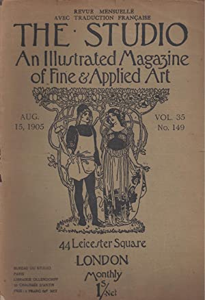 THE STUDIO An Illustrated Magazine of Fine & Applied Art - August 15, 1905 - Vol. 35 N° 149 / Rev...