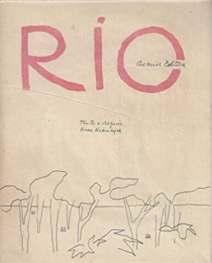 RIO de provincia a metròpole - inscribed and signed by Oscar Niemeyer