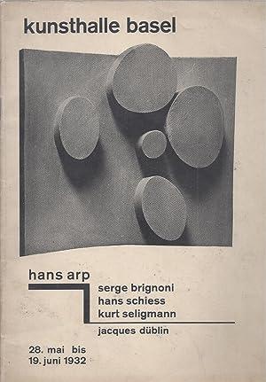 Hans Arp - Serge Brignoni - Hans: Arp, Hans -