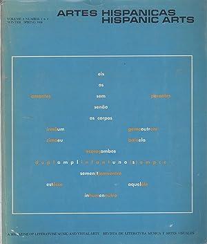 Artes Hispanicas / Hispanic Arts Volume 1: Barnstone, Willis -