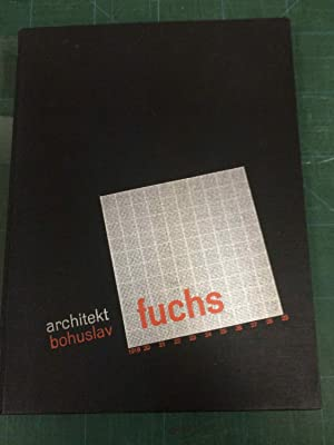 architekt Bohuslav Fuchs - inscribed by B. Fuchs and dated 24.VIII.32
