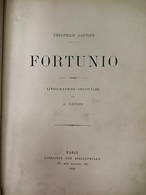 Fortunio - Réimpression textuelle de l'édition originale: Gautier, Théophile -