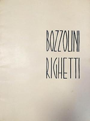 """BOZZOLINI - RIGHETTI : """"quatre piraine"""" dix: Arp, Jean -"""