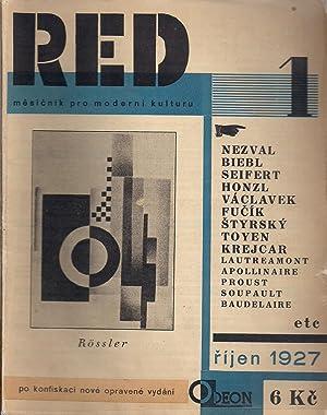"ReD Revue Svazu Moderni Kultury ""Devetsil"" Praha: Teige, Karel"
