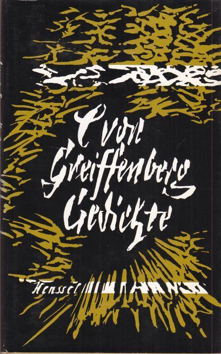 Gedichte. Ausgewählt und mit einem Nachwort herausgegeben: von Greiffenberg, Catharina