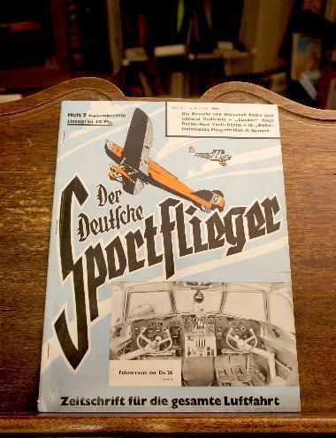 Der Deutsche Sportflieger : September 1938 : Seyboth, Karl (Schriftl):