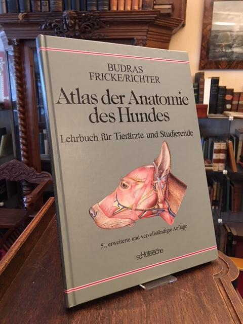 atlas der anatomie des hundes - ZVAB