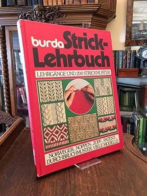 Burda-Strick-Lehrbuch : Bilder-Lehrgänge aus Anna, burda, Spass: Blumrich, Maria: