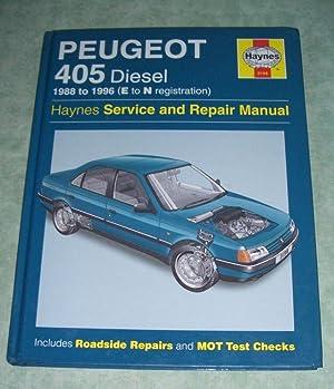 Peugeot 405 Diesel 1988 to 1996 (E: Auto + Motorrad