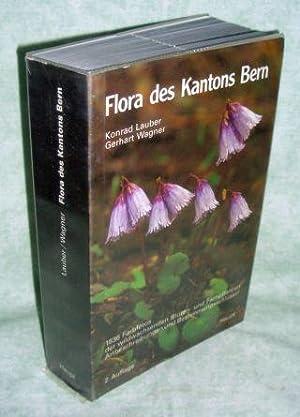 Flora des Kantons Bern. 1836 Farbfotos der wildwachsenden Blüten- und Farnpflanzen, ...