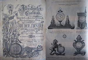 Illustrirter Catalog von Gold-, Silber-, Juwelen-, Schmuck-,: Firmengeschichte + Firmenkataloge
