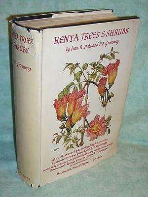 Kenya trees & shrubs.: Botanik + Gartenbau