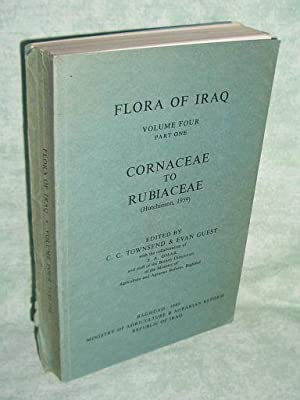 Flora of Iraq. Volume four. Part one.: Botanik + Gartenbau