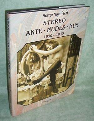 Der Akt in der Photographie. 1850 -: Erotica Nazarieff, Serge