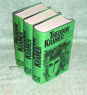 Gesammelte Gedichte. Hrsg. von Erwin Chvojka.: Literatur Kramer, Theodor.