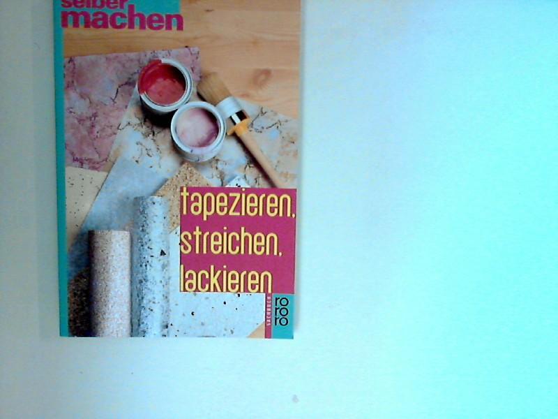 Tapezieren streichen lackieren zvab for Tapezieren streichen