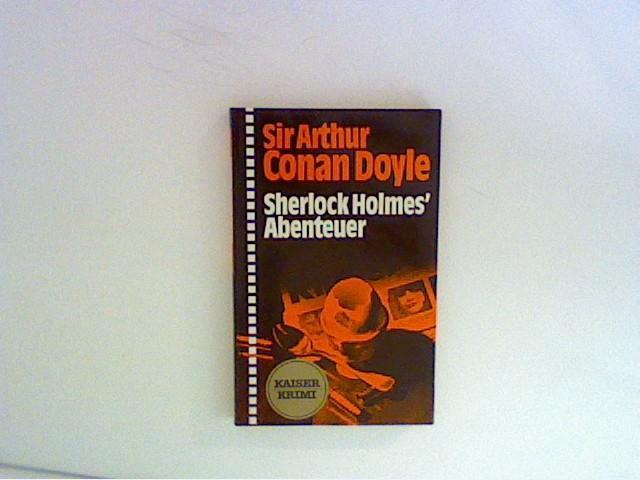 Sherlock Holmes Abenteuer: Doyle, Arthur Conan: