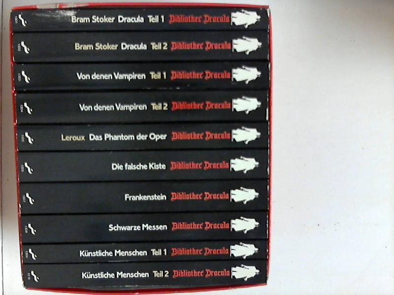Bibliothek Dracula. Sammlung von 10 Bänden. 1: Stoker, Bram, Dieter