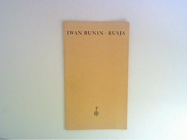 Rusja: Bunin, Iwan: