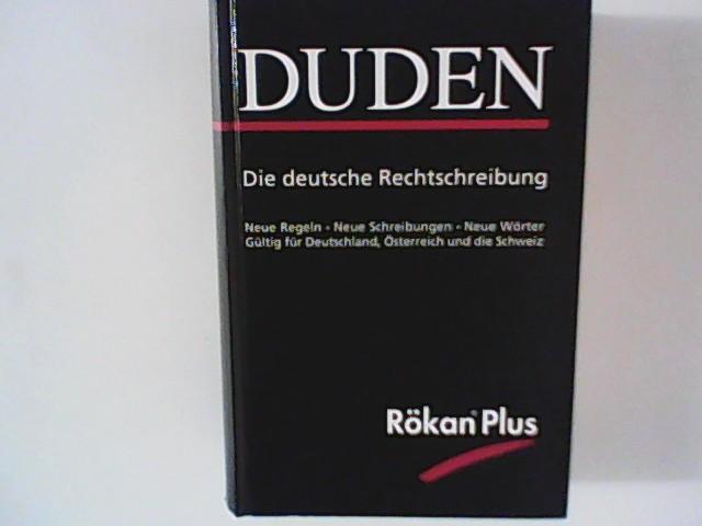 Duden Band 1 Die Deutsche Rechtschreibung Neue Regeln Neue