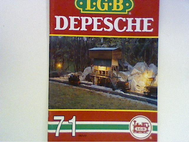 Model Railroads & Trains Other G Scale Lgb Depesche Nr 42 Von 1981