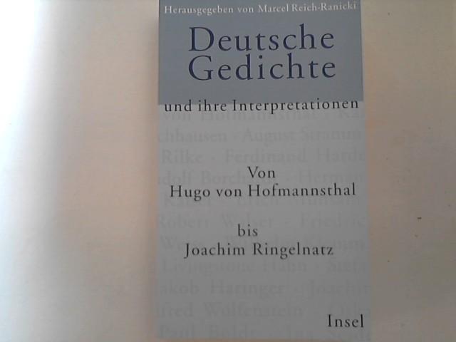 Gedichte und Interpretationen: Deutsche Balladen /(Reclams Universal ...
