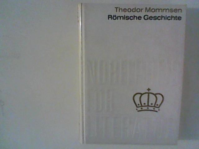 """Römische Geschichten """" von Theodor Mommsen .: Theodor, Mommsen:"""
