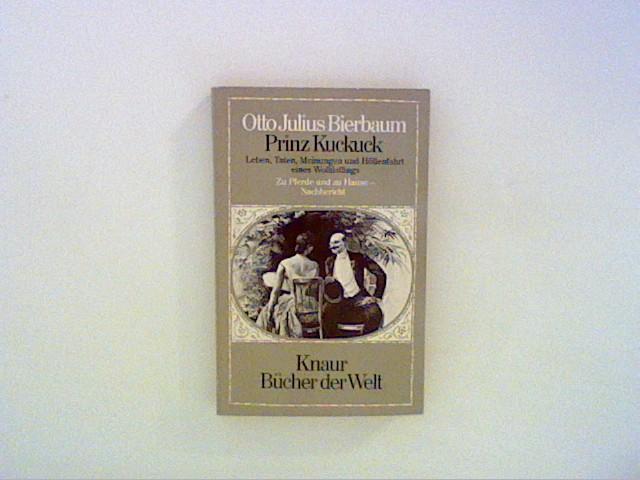 Prinz Kuckuck III - Bierbaum, Otto Julius