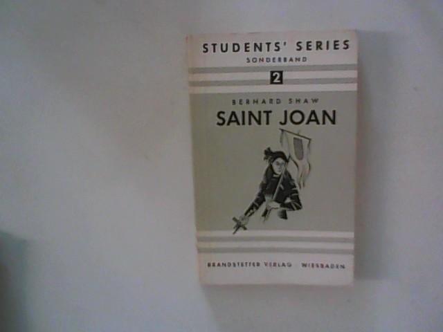 Saint Joan: A Chronicle in Six Scenes: Shaw, George Bernard: