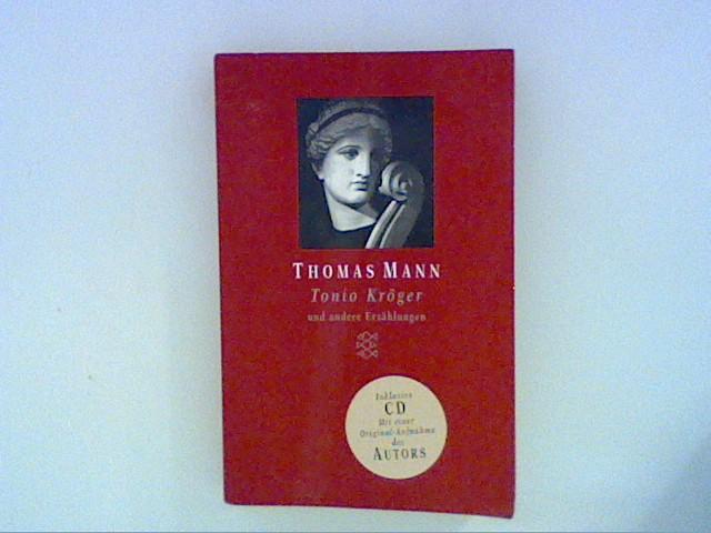 Tonio Kröger, m. CD: Mann, Thomas: