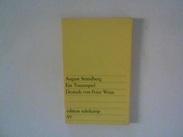 Ein Traumspiel: Strindberg, August: