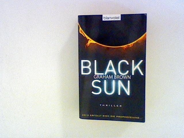 Black Sun: Thriller - Brown, Graham