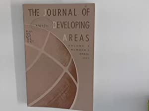 JOURNAL OF DEVELOPING AREAS. Volume 5, Number: Brown, Spencer H.