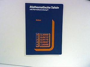 Mathematische Tafeln: Mit stochastischen Tabellen Anleitungen zur: Sieber, Helmut: