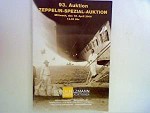 93. Auktion , Zeppelin - Spezial- Auktion 12. April 2000