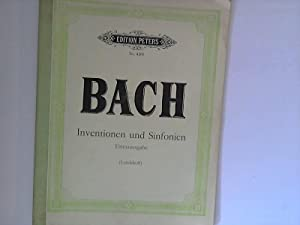 Die 15 Zweistimmigen Inventionen und die 15: Bach, Johann Sebastian
