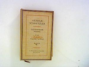 Gesammelte Werke von Arthur Schnitzler in zwei: Schnitzler, Arthur: