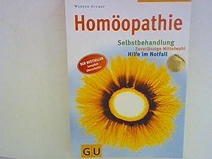 Homöopathie : Selbstbehandlung, zuverlässige Mittelwahl, Hilfe im: Stumpf, Werner: