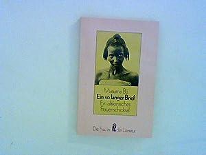 Ein so langer Brief. Ein afrikanisches Frauenschicksal.: Bâ, Mariama: