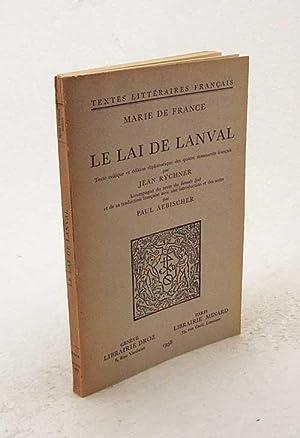 Le Lai de Lanval / Marie de: France, Marie de