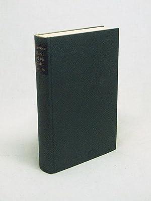 Männer sind wie Kinder : Drei Kurzromane: Filipowicz, Kornel