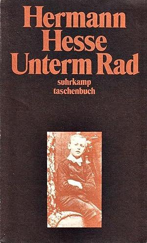 Unterm Rad : Erzählung.: Hermann, Hesse,