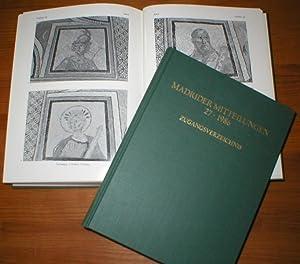 Madrider Mitteilungen Band 27 in 2 Bänden - 1986.: Deutsches Archäologisches Institut / Abteilung ...