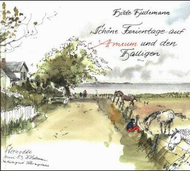 Schöne Ferientage auf Amrum und den Halligen - Hudemann, Hilde