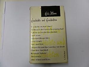 Geschichte und Geschichten: Mann, Golo: