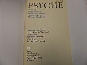 Zeitschrift für Psychoanalyse und ihre Anwendungen Heft 11 24. Jahrgang: Alexander Mitscherlich (...