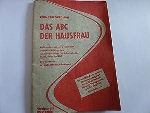Neuerscheinung Das ABC der Hausfrau 1000 preisgegebene: Juhlemann, W.: